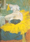 The Clowness Cha-U-Kao by Toulouse-Lautrec