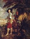 Van Dyck Charles I: King of England at the Hunt