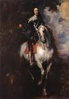 Van Dyck Equestrian Portrait of Charles I, King of England