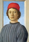 Botticelli Portrait of a Youth
