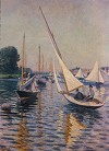 Gustave CAILLEBOTTE''s  Regatta At Argenteuil