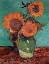 Van Gogh, Three Sunflowers in a Vase