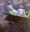 MONET: Young Girls in the Rowing Boat