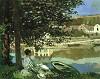 MONET: On the Seine at Bennecourt